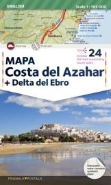 Wegenkaart - Toeristische kaart Costa del Azahar | Triangle Postal | ISBN 9788484786320
