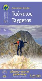 Wandelkaart Mt. Taygetos - Peloponnesos  | Anavasi 8.1 | ISBN 9789609412865