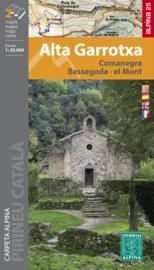 Wandelkaart Alta Garrotxa | Editorial Alpina | Centrale Pyreneeën | 1:25.000 | ISBN 9788480907538