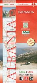 Wandelkaart Saranda  | Huber Verlag 09 | 1:50.000 | ISBN 9783943752151