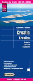 Wegenkaart Kroatië   Reise Know How   1:300.000   ISBN 9783831773435