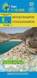 Wandelkaart Folegandros | Anavasi 10.46 | 1:18.000 | ISBN 9789609412551