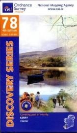 Wandelkaart Ordnance Survey / Discovery series | Kerry 78 | ISBN 9781908852328
