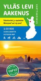 Wandelkaart Ylläs Levi  Aakenus | Karttakeskus | 1:50.000 | ISBN 9789522663870
