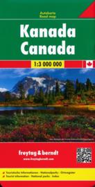 Wegenkaart Canada | Freytag & Berndt  | 1: 3 miljoen | ISBN 9783707915525