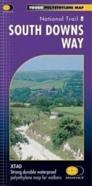 Wandelkaart The South downs way | Harvey | 1:40.000 | ISBN 9781851374779