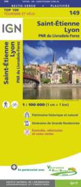 Wegenkaart - fietskaart Lyon - St. Etienne | Rhône Alps / Rhône | IGN 149 | ISBN 9782758543794