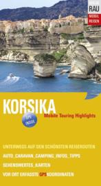 Campergids Corsica - Mit dem Wohnmobil nach Korsika  | Werner Rau Verlag | ISBN 9783926145413