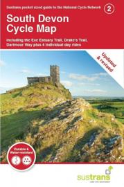 Fietskaart Cycle City Guide nr. 02 | South Devon Cycle Map | 1:110.000 | ISBN 9781900623230