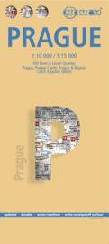 Stadskaart Praag - Tsjechië   Borch   1:11.000   ISBN 9783866093614