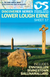 Wandelkaart Lower Lough Erne | Discovery Northern Ireland 17 - Ordnance survey | 1:50.000 | ISBN 9781905306862