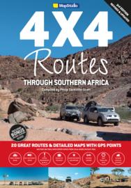 Wegenatlas Zuidelijk Afrika - Southern Africa 4x4 Routes | MapStudio | ISBN 9781770269545