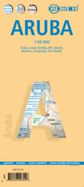 Wegenkaart Aruba | Borch | 1:50.000 | ISBN 9783866093423