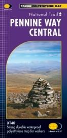 Wandelkaart The Pennine Way Central | Harvey | 1:40.000 | ISBN 9781851375202