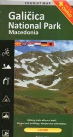 Wandelkaart Galicica National Park Macedonie | Trimaks | 1:50.000 | ISBN 9786082041278