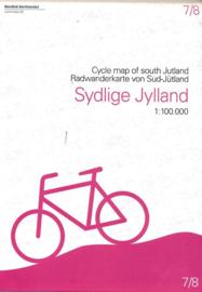 Fietskaart Zuid Jutland | Scanmaps nr. 7 | 1:100.000 | ISBN 9788779671065