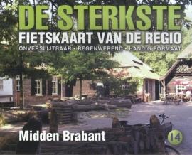 Fietskaart De sterkste fietskaart van de regio : midden Brabant | Buijten & Schipperheijn | 1:50.000 | ISBN 9789058817174