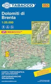 Wandelkaart Brenta | Tabacco 53 | 1:25.000 | ISBN 9788883150890