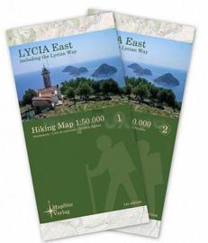 Wandelkaart Lykische weg Oost - Lycian Way East | Mapsite Verlag | 1:50.000 | ISBN 9783981721607