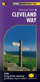 Wandelkaart Cleveland Way | Harvey Maps | 1:40.000 | ISBN 9781851374892