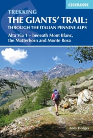 Wandelgids The Giants' Trail: Alta Via 1 Through the Italian Pennine Alps | Cicerone | ISBN 9781852849924