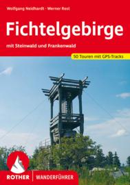 Wandelgids Fichtelgebirge mit Steinwald - Frankenwald | Rother Verlag | ISBN 9783763342792