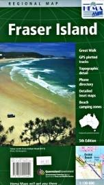 Wegenkaart Fraser Island | HEMA Maps | 1:130.000 | ISBN 9781865000442