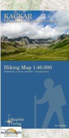 Wandelkaart Kackar Mountains | Mapsite Verlag | 1:35.000 | ISBN 9783981721621