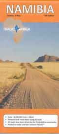 Wegenkaart Namibia - Namibië  | Tracks4Africa | 1:1 miljoen | ISBN 9780992183028