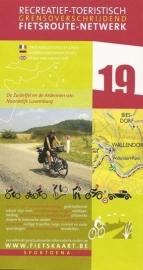 Sportoena fietskaart 19  Zuideifel en Ardennen - noord Luxemburg | Fietsroute-Netwerk | ISBN 9789078976097