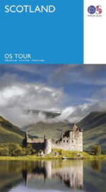 Wegenkaart Schotland - Scotland | Ordnance Survey Tour 12 | ISBN 9780319263884