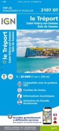 Wandelkaart Le Treport, St-Valery sur Somme, Baie de Somme | IGN 2107 OT – IGN 2107OT