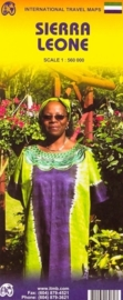 Wegenkaart Sierra Leone | ITMB | 1:560.000 | ISBN 9781553413967