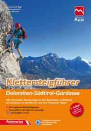 Klettersteiggids Klettersteigführer Dolomiten - Südtirol - Gardasee | AlpinVerlag | ISBN 9783902656254
