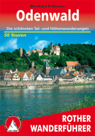 Wandelgids Rother Odenwald | Rother Verlag | ISBN 9783763341511
