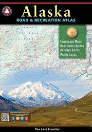 Reisgids - wegenatlas Alaska Road & Recreational Atlas | Benchmark Maps | ISBN 9780929591148