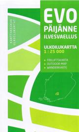Wandelkaart  Evo Päijänne Ilvesvaellus   Karttakeskus   1:25 000   ISBN 9789522660176