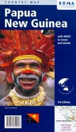 Wegenkaart Papua New Guinea | HEMA Maps | 1;2,6 miljoen | ISBN 9781875610013