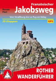 Wandelgids Rother Französischer Jakobsweg | Rother Verlag | Van Straatsburg naar Le Puy | ISBN 9783763343669