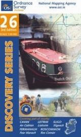 Wandelkaart Ordnance Survey / Discovery series | Cavan / Leitrim/ Roscommon / Sligo 26 | ISBN 9781907122491