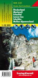 Wandelkaart Ötscherland, Mariazell, Erlauftal, Lunzer See, Scheibbs, Melker Alpenvorland | Freytag & Berndt 031 | ISBN 9783850843201
