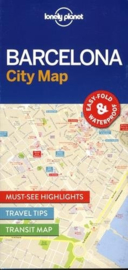 Stadskaart Barcelona | Lonely Planet | ISBN 9781786574107