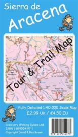 Wandelkaart Sierra de Aracena | Discovery Walking Guides | 1:40.000 | ISBN 9781899554973