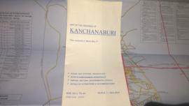 Wegenkaart Kanchanaburi| Prannok Witthaya Maps | 1:380.000