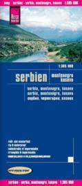 Wegenkaart Serbien, Montenegro, Kosovo | Reise Know How | 1:400.000 | ISBN 9783831773459
