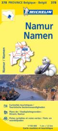 Wegen- en Fietskaart Namen | Michelin 378 | 1:150.000 | ISBN 9782067185357