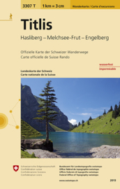 Wandelkaart Titlis | Bundesamt 3307T |  ISBN 9783302333076