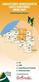 Wandelkaart Antwerpen, Brussel, Vlaams- en Waals-Brabant | Alta Via 3 GR | 1:85.000 | ISBN 9789082844368
