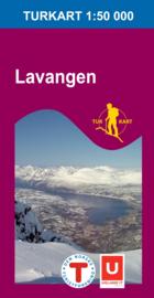 Wandelkaart  Lavangen 2732 | Nordeca | 1:50.000 | ISBN 7046660027325