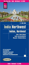Wegenkaart Noordwest India | Reise Know How | ISBN 9783831773404